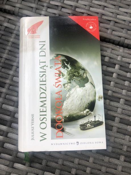 W Osiemdziesiąt Dni Dookoła Świata książka Juliusz Verne lektura