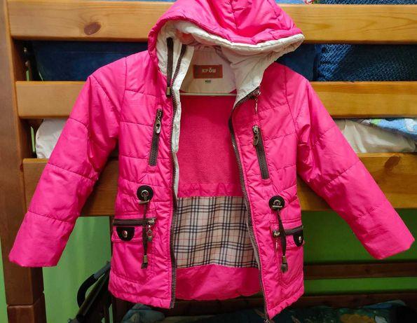 Курточка для девочки весна-осень рост 128