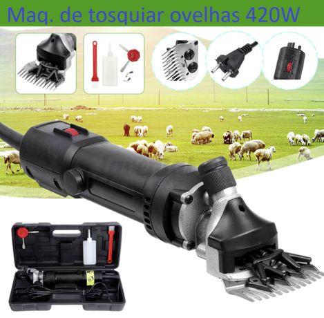 Máquina de tosquiar ovelhas, robusta fiável, serviço compl.