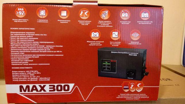 Вольт UPS  MAX-300
