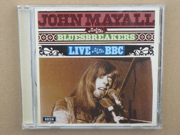 cd John Mayall & The Bluesbreakers - Live at the BBC 2007 red cd
