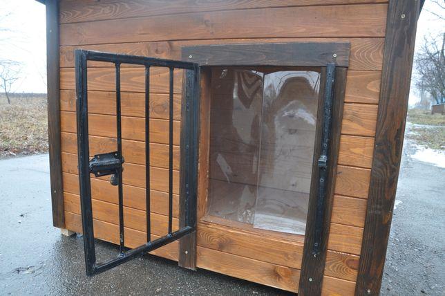 РЕШЕТКА НА ВХОД в будку. Для временного удержания собаки в будке