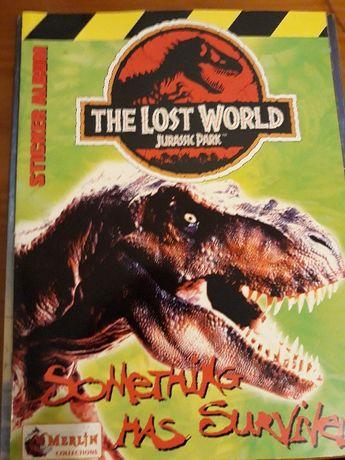 ATUALIZADO - Cromos Merlin Jurassic Park The Lost World