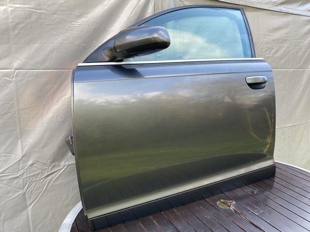 Drzwi przednie prawe lewe Audi A6 C6 LZ7S kompletne