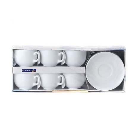 Чайний сервіз Luminarc 12 предметів (на 6 персон)