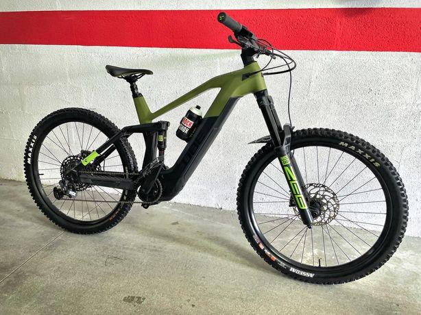 Bicicleta elétrica ebike cube stereo 160 SL