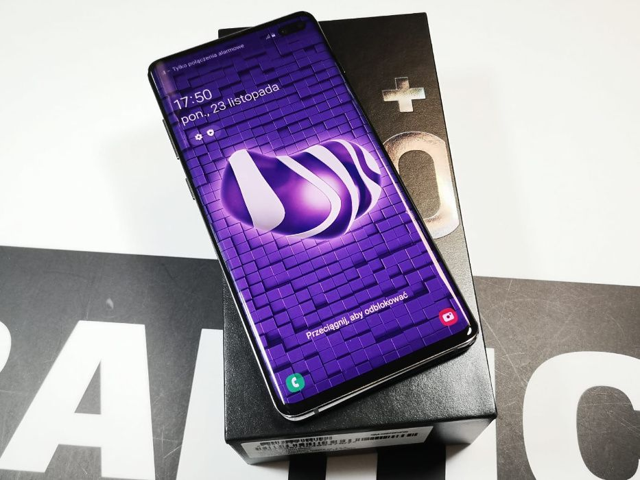 Sklep zadbany telefon Samsung Galaxy S10 Plus 128gb black Gdańsk - image 1