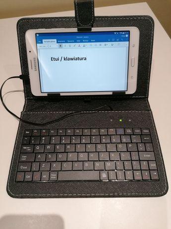Etui do tabletu '7 z klawiaturą USB