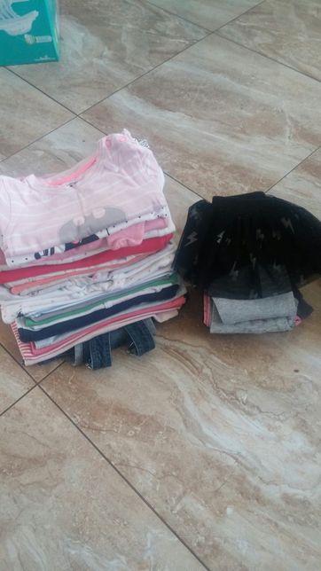 Paka firmowych ,zestaw ubran dla dziewczynki roz.68