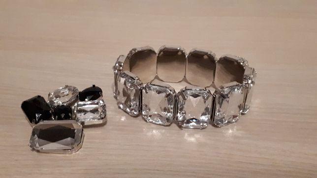 Набор браслет, брошь, новый красивый, на подарок