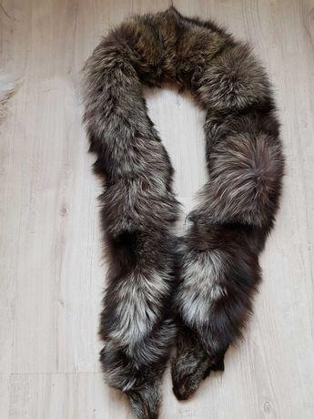 Меховой воротник- чернобурка
