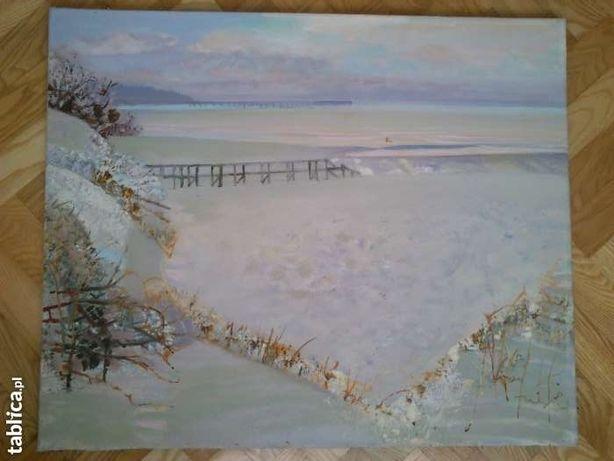 Obraz olejny, Grazina Vitartaite, krajobraz