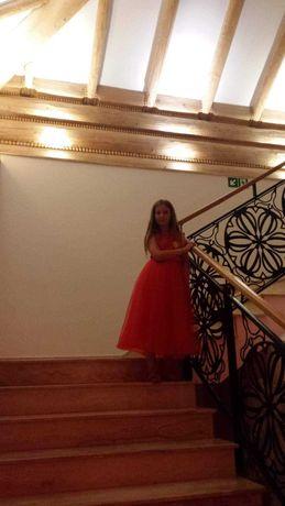 Sukienka dla dziewczynki rozm 150 cm
