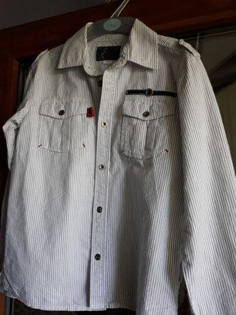 Рубашка школьная 146, сорочка
