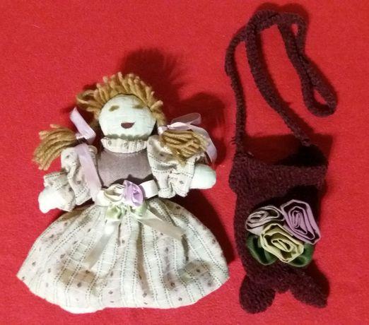 Сумочка+игрушка для большой куклы