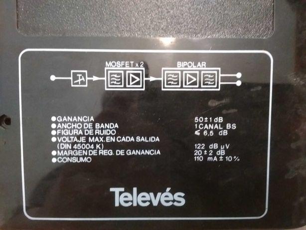 Profesjonalny wzmacniacz kanałowy sygnału telewizyjnego firmy Televes