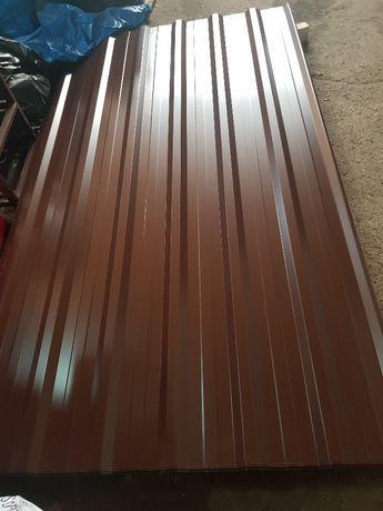 Blacha trapezowa T-18 8017 brąz od ręki, 24 m2 NETTO