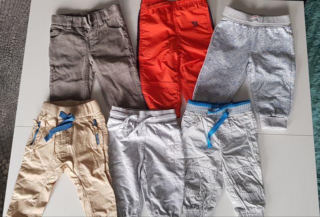 Spodnie chłopięce cool club smyk Wójcik pepco r.74