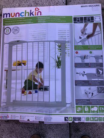 Grade de segurança para crianças com duas extensões
