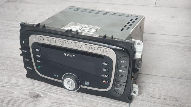 Radio Sony CD345 MP3,BT,AUX Ford Mondeo Focus Galaxy Cmax Smax Kuga