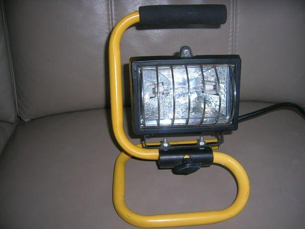 Lampa halogenowa przenośna + żartnik