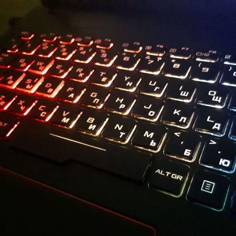Лазерне гравіювання клавіатури в Тернополі, гравіровка macbook