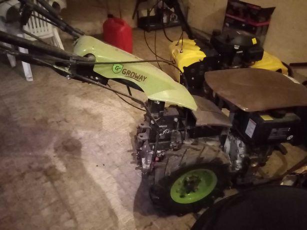 motocultivador com acessórios  nunca utilizados