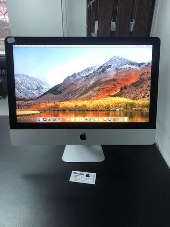 Apple iMac 21.5 Silver 2015 (1.6 GHz i5/8 gb/ 250 gb SSD) ИДЕАЛ!