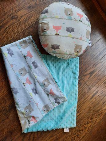 Poduszka + kocyk
