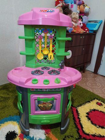 Кухня детская пластиковая