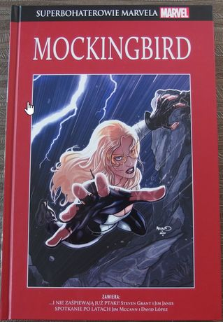 Superbohaterowie Marvela SBM 22 Mockingbird