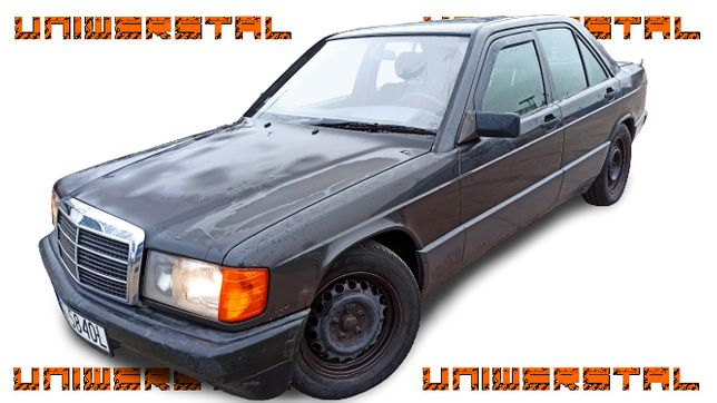 MERCEDES - BENZ 190 E 1.8, 1991r. benz. + GAZ ,ważne opłaty,youngtimer