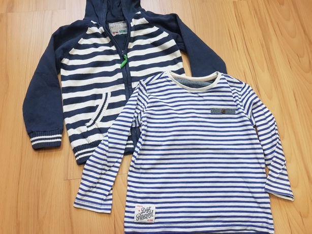 Komplet sweter + bluzka 98-104, reserved, cool
