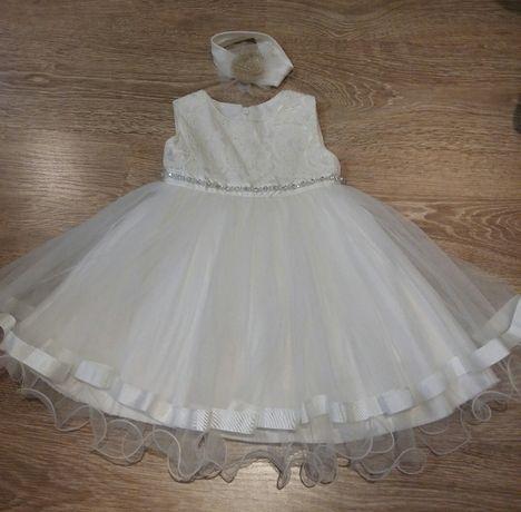 Нарядное платье-сарафан на 1,5-3 года!