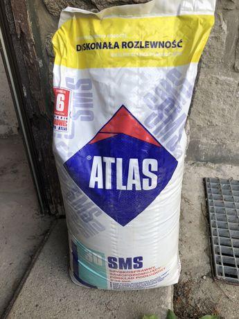 Wylewka samopoziomująca ATLAS SMS-30, 3-30mm 25 KG