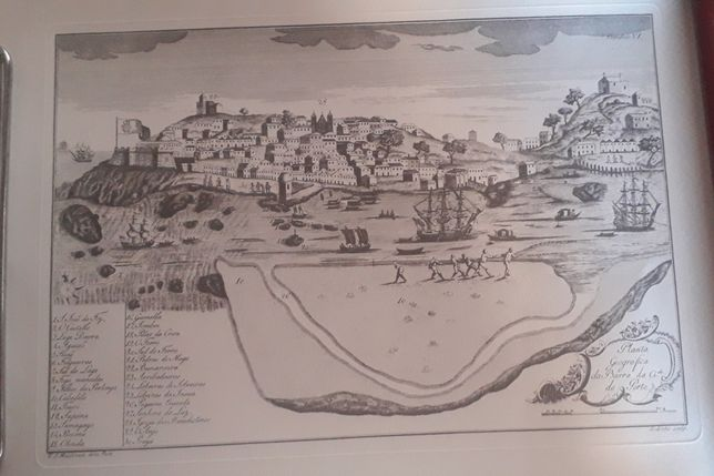 Gravuras da cidade do Porto