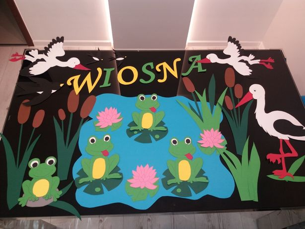 Dekoracja Wiosenna do przedszkola