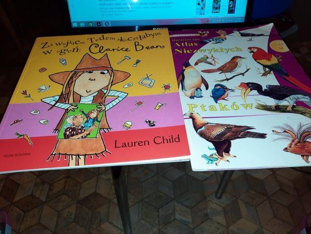 Bajki dla dzieci książki, Ilustrowany Atlas Niezwykłych Ptaków