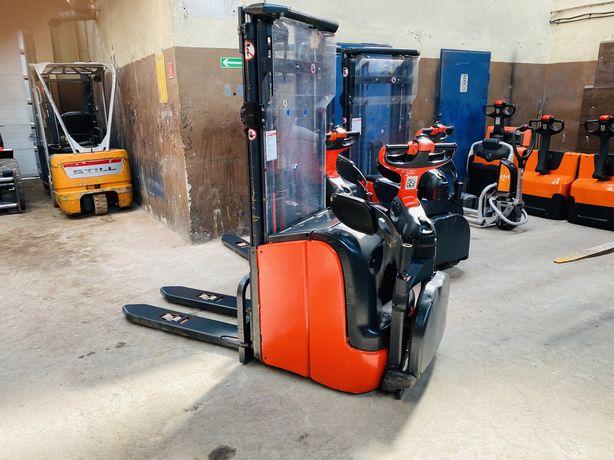 Paleciak elektryczny Linde L14 AP 440cm 1400kg wózek widłowy