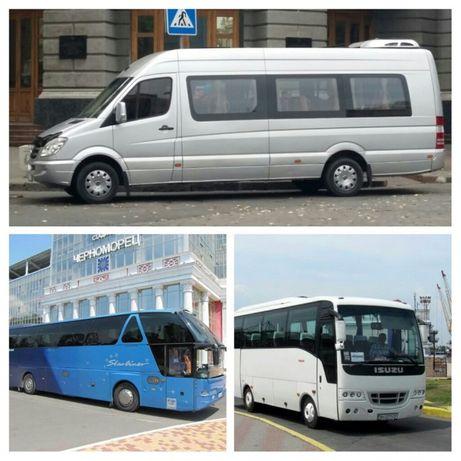 Аренда, пассажирские перевозки, заказ автобусов и микроавтобусов