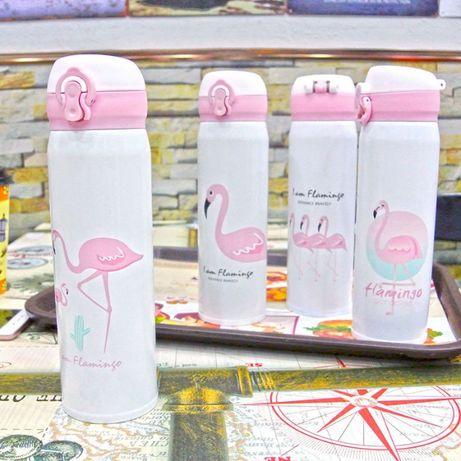 Термос- поилка Фламинго Paradise 500мл.
