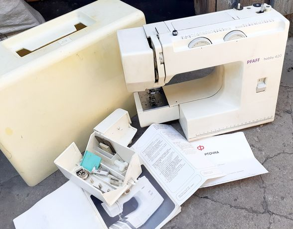 Машинка для шитья Praff hobby 420. 3000 рублей