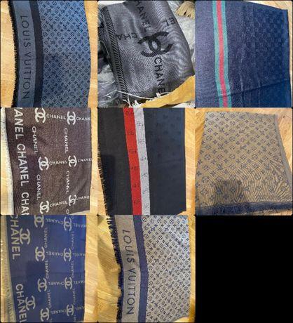 Szalik drustronny Louis Vuitton Szal Gucci Tommy Chusta Chanel