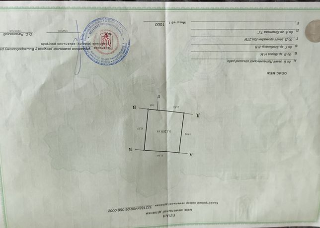 Земельна ділянка 0.12га для  в с. Литвинівка Київської області