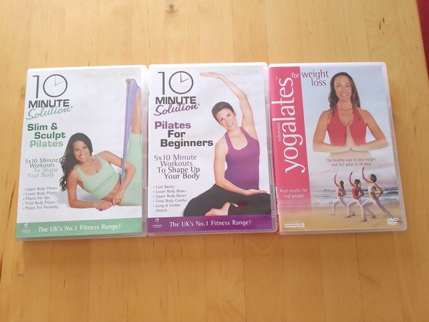 DVDs yoga pilates - yogalates