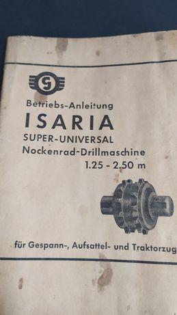Katalog siewnika ISARIA Super-Universal