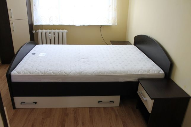 Stelaż łóżka venge