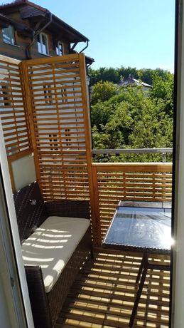 Pergole ściany z drewna zabudowa tarasów zabudowa balkonów
