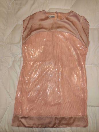 Vestido Lantejoulas Rosa