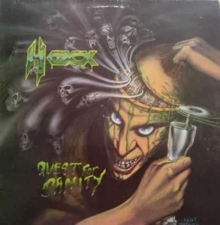 Hexx – Quest For Sanity, Under One Flag 1988, Vinyl